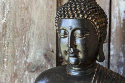Wall mural Statue Bouddha
