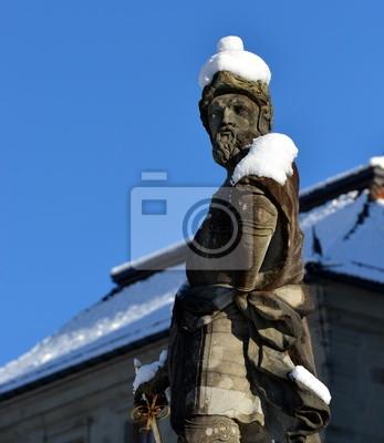 statue....Einsiedeln