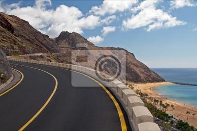 Stock Photo: The road to mountains, Tenerife