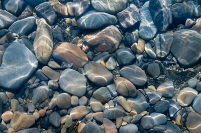 Wall mural Stones under water.