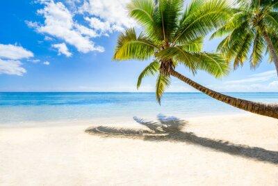 Wall mural Strandurlaub auf einer einsamen Insel im Meer