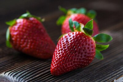 Wall mural Strawberries