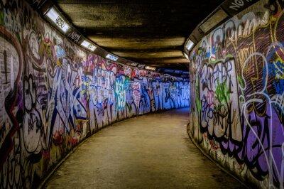Wall mural Subway Graffiti