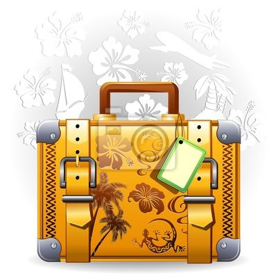 Suitcase Travel Vacations Vacation Travel Luggage Suitcase -