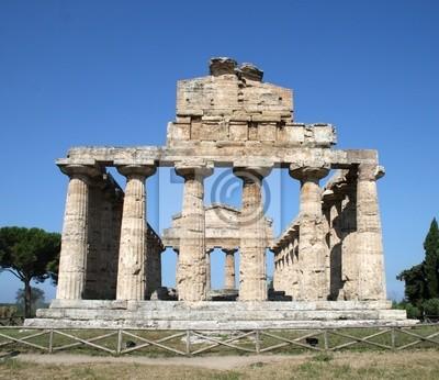Summer in Italy-Paestum Temple