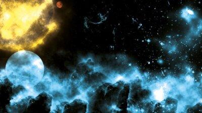 Wall mural Sun/Galaxy Spacefog