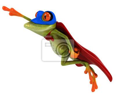 Super grenouille