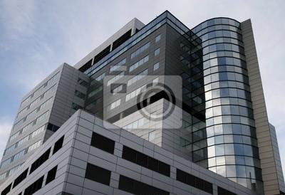 Super modern skyscraper office building.
