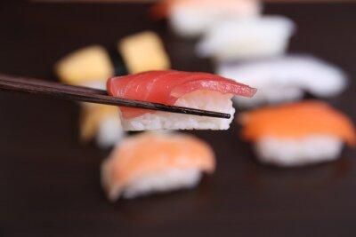 Wall mural sushi japanese food