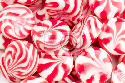 Wall mural Sweet caramel candy