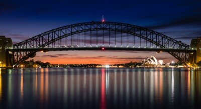 Wall mural Sydney Harbour at Dawn