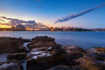 Wall mural Sydney skyline