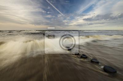 sztorm na Morzu Bałtyckim