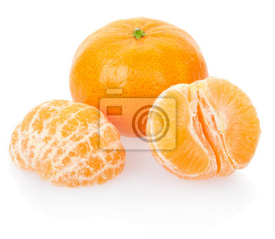 Wall mural Tangerine, clipping path included