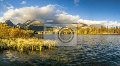 Tatra lake Strbske Pleso, Slovakia