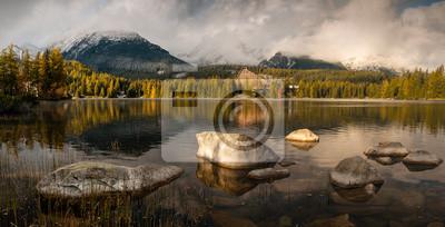 Tatrzańskie jezioro