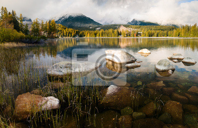 Tatrzańskie jezioro,Strbskie Pleso