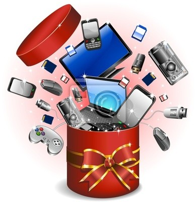 Technology - Technological Gifts Gift Gift -Vector