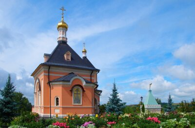 Temple in honor of  Transfiguration in Optina monastery