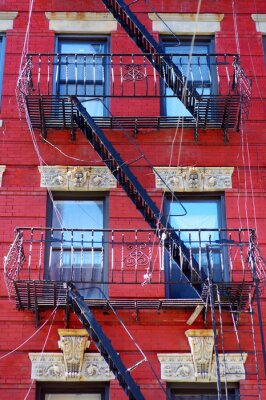 Wall mural Tenement in Little Italy