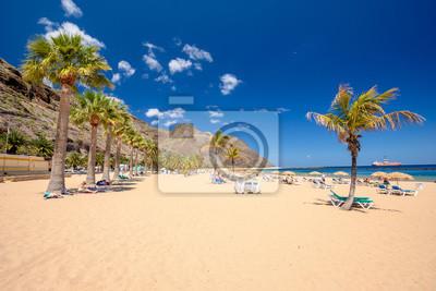 Teresitas beach near San Andres,Tenerife,Spain