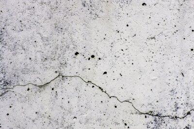 Wall mural Texture di sfondo di un  muro, in cemento, con crepa che scorre orizzontalmente