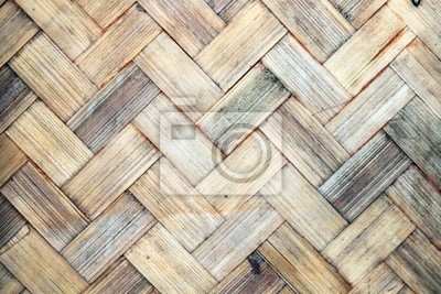 Texture of bamboo weave,used for background