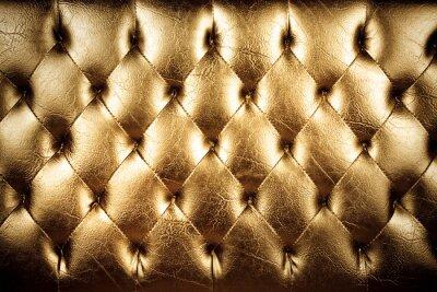Wall mural texture of padding, A gold texture of padding cushion.