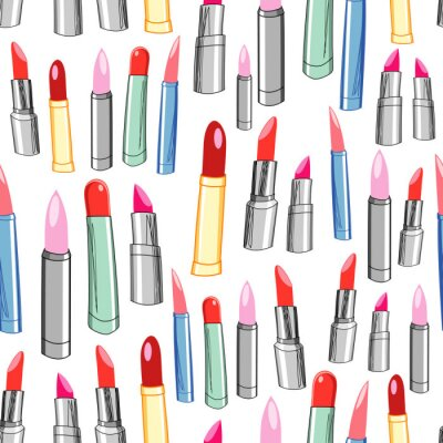 Wall mural texture of the lipstick