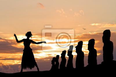 Thai dance on Easter Island