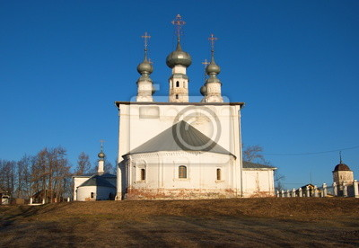 The Church of the Apostles Peter and Paul in Suzdal