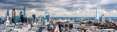 Wall mural The City of London Panorama