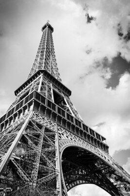 Wall mural The Eiffel tower, Paris France