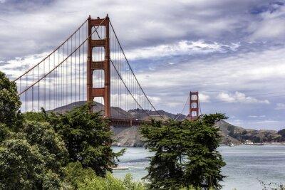Wall mural The Golden Gate Bridge
