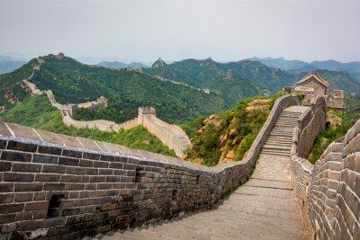 Wall mural The Great Wall, Beijing, China
