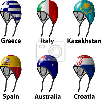 The London 2012 Water Polo draw Group A