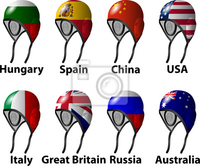 The London 2012 Water Polo draw vomen