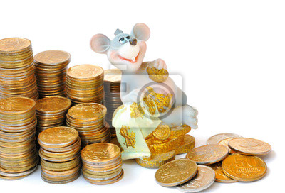 The mouse and coins