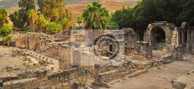 The ruins of the Roman Empire in Israel