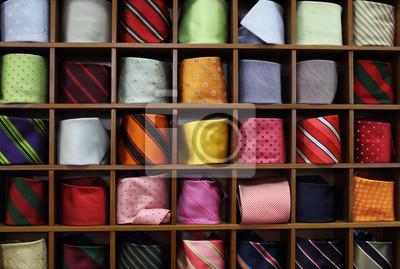 Ties on the shelf