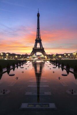Wall mural Tour Eiffel Paris