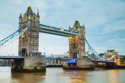 Wall mural Tower bridge in London, Great Britain