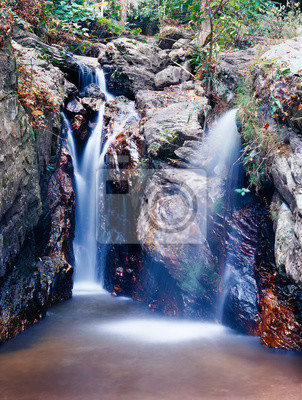 Trai Trueng Falls, Kanchanaburi province, Thailand
