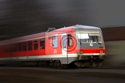 Wall mural train 22