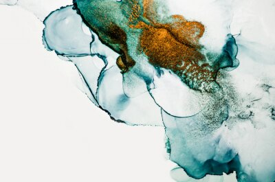 Wall mural Transparent creativity. Abstract clouds -ART.  Masterpiece of designing art. Inspired by the sky, as well as steam and smoke. Ink colors are amazingly bright, luminous, translucent, free-flowing.