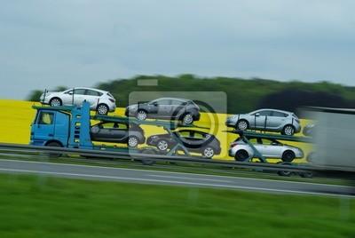 Wall mural Transport