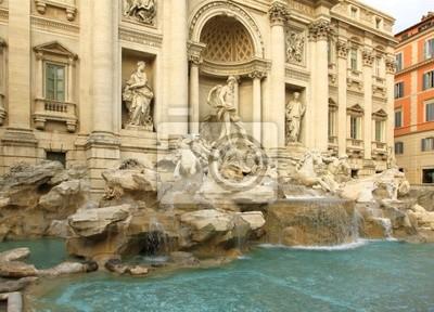 Trevi Fountain. Rome.