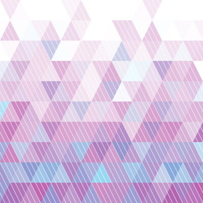 Wall mural Triangles Pattern