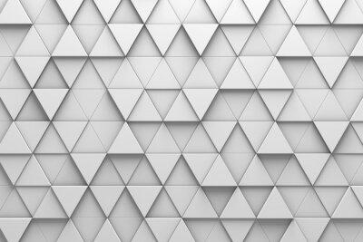 Wall mural Triangular Tiles 3D Pattern Wall