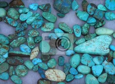 Wall mural Turquoise